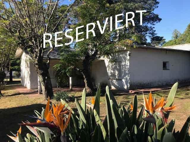 Haus mit großem Park – reserviert